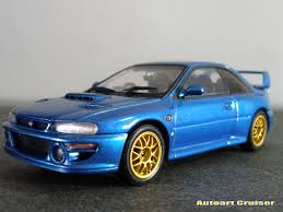 subaru autoart autoart cruiser subaru impreza wrx 22b 1999 gorgeous sport