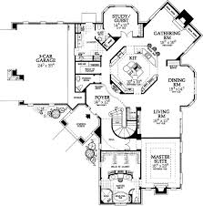 5 Bedroom 4 Bathroom House Plans by 84 Best House Plans Images On Pinterest Luxury House Plans