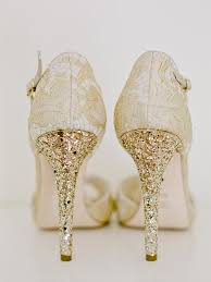wedding shoes glitter sparkly wedding shoes