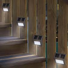 awesome solar stair lights solar stair light fixtures u2013 lighting