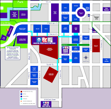 indiana convention center floor plan maps of popcon indy popcon