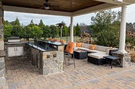 Traditional Outdoor Furniture by Traditional Patio With Exterior Stone Floors U0026 Fence In Virginia