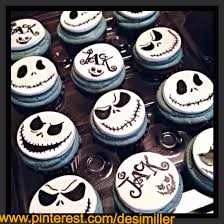 nightmare before christmas cupcakes holiday baking pinterest