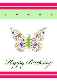 free birthday cards to print extraordinary birthday card print