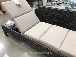 Agio International Patio Furniture Costco - agio international santa ana woven chaise lounger costco weekender