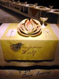 judy chicago dinner table judy chicago s the dinner party by jane davila ragged cloth cafe
