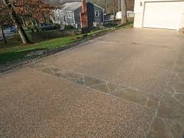 Exposed Aggregate Patio Stones Exposed Aggregate And Stamped Concrete New England Hardscapes Inc