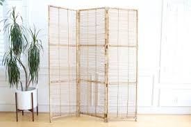 vintage room divider vintage bamboo u0026 rattan folding screen room divider no 557