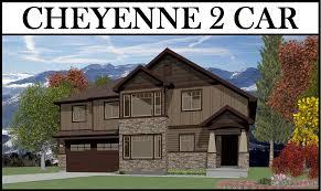 2 story home designs cheyenne 2 car 4 bed 1805 2 story u2013 utah home design