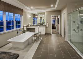bathroom designers nj his and her vanities a shower and a stand alone tub how perfect
