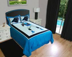 Best Carolina Panthers Rooms  WoMan Caves Images On - Carolina bedroom set