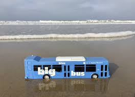Tired Of The Commute Try by Big Blue Bus Beagreencommuter