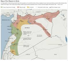 Syria Fighting Map by Islamic State In Maps