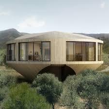 Round House Design Offers A Unique Architectural Experience - Unique homes designs
