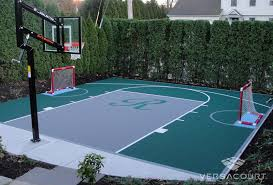 backyard hockey rinks from versacourt