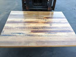 reclaimed wood restaurant table tops astonishing restaurant table tops chicago pic for solid wood ideas