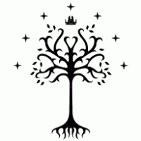tree of gondor brands of the vector logos and