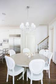 Best Interior  Dining Images On Pinterest Dining Room - All white dining room