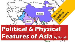 Asia Physical Map by Political U0026 Physical Features Of Southern Eastern Asia Youtube