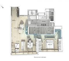 house plans with office nook home floor examples plan ideas