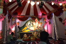 home decoration of ganesh festival wallpapers ganapati decorations ganesh chaturthi decoration