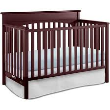 Convertible Crib Cherry Graco 4 In 1 Convertible Crib Cherry Walmart