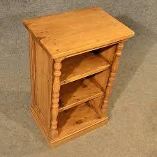 Narrow Pine Bookcase by Antique Pine Narrow Cabinet Bookcase Shelves Antiques Atlas