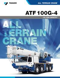 fleet brochures u0026 technical information u2014 texas crane services