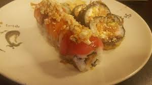 Las Vegas and Godzilla Roll sorry for bad angle Picture of Sushi