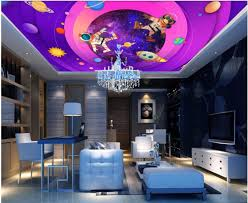 online get cheap murals space aliexpress com alibaba group custom photo 3d wallpaper ceiling mural space cosmic galaxy decoration painting 3d wall murals wallpaper for