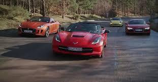 corvette vs audi r8 chevrolet corvette c7 stingray vs porsche 911 audi r8 and jaguar