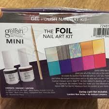 mini the foil nail art kit nail art foil nails and tools