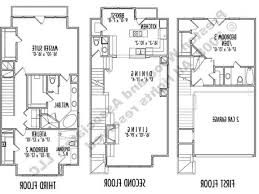 apartments 3 story house plans small lot small house plan for