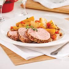 cuisine roti de veau rôti de veau aux pommes de terre et vin blanc à la mijoteuse