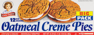 Little Debbie Halloween Cakes by Little Debbie Oatmeal Creme Pies 12 Ct Walmart Com