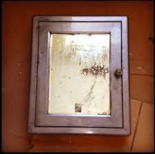 vintage metal medicine cabinet medicine cabinet before and after reclaimedhome com