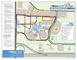 Health Map Metro Health Village Walking Biking Trails Metro Health Hospital