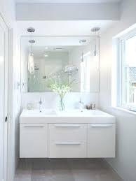 pendant lights for bathrooms trendy bathroom photo in with flat panel cabinets white cabinets and an pendant lights for bathrooms