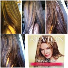 hair frosting for dark hair once again i used revlon frost and glow honey kit this time i