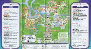 Orlando Disney Map by 4 Halloween At Disney World Yourfirstvisit Net