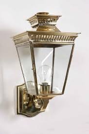 Antique Brass Outdoor Wall Lights by Pagoda Solid Brass Outdoor Wall Lantern From Richard Hathaway Lighting