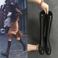 s knee boots uk winter knee zip boots uk free uk delivery on winter