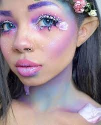 pretty rainbow fairy diy halloween makeup diy halloween makeup