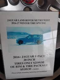 lexus winter tires toronto f pace snow tire rim package jaguar f pace forum