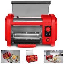 elite cuisine toaster elite cuisine ehd 051r maxi matic roller toaster oven combo