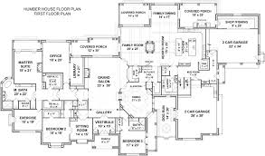 Luxury Mansion House Plan First Floor Floor Plans Humber House Mansion House Plans Luxury House Plans