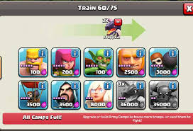 clash of clans all troops clash of clans top tips cheats for tier 3 troops heavy com