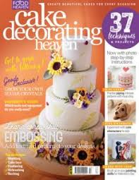 Cake Decorating Heaven s January February 2017 issue is on sale