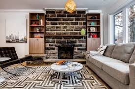 stacked stone fireplace designs and the decors around them u2013 home info