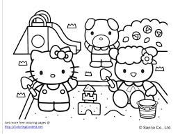 free kitty coloring book